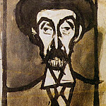 Pablo Picasso (1881-1973) Period of creation: 1889-1907 - 1899 Portrait dUtrillo