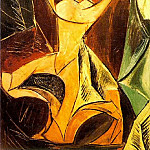 Pablo Picasso (1881-1973) Period of creation: 1889-1907 - 1907 Grande danseuse dAvinyв