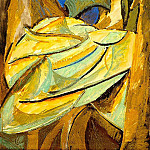 1907 Feuillage, Pablo Picasso (1881-1973) Period of creation: 1889-1907