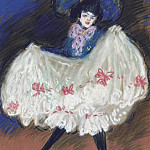 Pablo Picasso (1881-1973) Period of creation: 1889-1907 - 1901 La danseuse (Cancan)