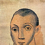 1906 Autoportrait2, Pablo Picasso (1881-1973) Period of creation: 1889-1907