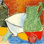 Pablo Picasso (1881-1973) Period of creation: 1889-1907 - 1907 Les Citrons