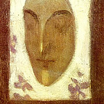 Pablo Picasso (1881-1973) Period of creation: 1889-1907 - 1900 Masque de visage