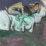 Pablo Picasso (1881-1973) Period of creation: 1889-1907 - 1903 scene erotique