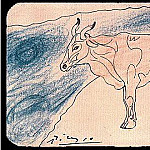 Pablo Picasso (1881-1973) Period of creation: 1889-1907 - 1906 Taureau