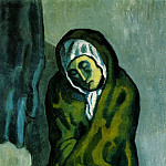 1902 MisВreuse accroupie, Pablo Picasso (1881-1973) Period of creation: 1889-1907