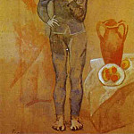 Pablo Picasso (1881-1973) Period of creation: 1889-1907 - 1905 Jongleur et nature morte. JPG