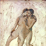 1905 Nus entrelacВs, Pablo Picasso (1881-1973) Period of creation: 1889-1907