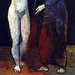 Pablo Picasso (1881-1973) Period of creation: 1889-1907 - 1906 La toilette1