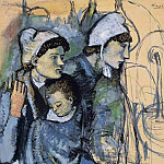 1901 Femmes Е la fontaine, Pablo Picasso (1881-1973) Period of creation: 1889-1907