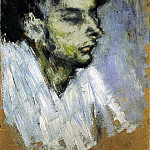 Pablo Picasso (1881-1973) Period of creation: 1889-1907 - 1901 Casagemas mort [Le suicide]