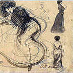 1900 Danseuse et femmes, Pablo Picasso (1881-1973) Period of creation: 1889-1907