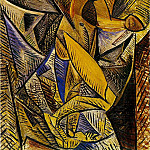 1907 La danse aux voiles , Pablo Picasso (1881-1973) Period of creation: 1889-1907
