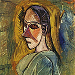 Pablo Picasso (1881-1973) Period of creation: 1889-1907 - 1907 Buste de femme (Рtude pour Les Demoiselles dAvinyв)