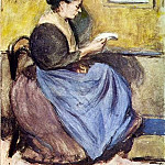1899 Femme assise, Pablo Picasso (1881-1973) Period of creation: 1889-1907