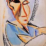 1907 TИte dВtudiant mВdical, Pablo Picasso (1881-1973) Period of creation: 1889-1907