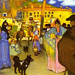 1900 Les arКnes de Barcelona, Pablo Picasso (1881-1973) Period of creation: 1889-1907