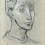 1906 TИte de femme, Pablo Picasso (1881-1973) Period of creation: 1889-1907