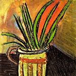 1907 Fleurs exotiques , Pablo Picasso (1881-1973) Period of creation: 1889-1907