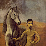 Pablo Picasso (1881-1973) Period of creation: 1889-1907 - 1906 Meneur de cheval nu3