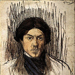 Pablo Picasso (1881-1973) Period of creation: 1889-1907 - 1901 Autoportrait