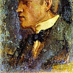 1895 Portrait de PallarВs, Pablo Picasso (1881-1973) Period of creation: 1889-1907