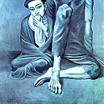 1903 Le vieux juif , Pablo Picasso (1881-1973) Period of creation: 1889-1907