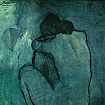 Pablo Picasso (1881-1973) Period of creation: 1889-1907 - 1902 Femme nue 2