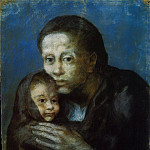 1903 MКre et enfant au fichu, Pablo Picasso (1881-1973) Period of creation: 1889-1907