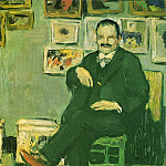 Pablo Picasso (1881-1973) Period of creation: 1889-1907 - 1901 Portrait de Gustave Coquiot [Ambroise Vollard]