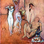 Pablo Picasso (1881-1973) Period of creation: 1889-1907 - 1906 Le Harem
