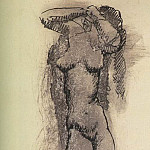 Pablo Picasso (1881-1973) Period of creation: 1889-1907 - 1906 Femme nue