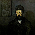 Pablo Picasso (1881-1973) Period of creation: 1889-1907 - 1902 Portrait dhomme [Homme en bleu]