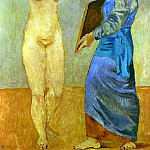 Pablo Picasso (1881-1973) Period of creation: 1889-1907 - 1906 La toilette3