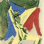 1907 Nu Е la draperie , Pablo Picasso (1881-1973) Period of creation: 1889-1907