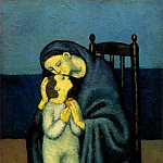 1901 MКre et enfant, Pablo Picasso (1881-1973) Period of creation: 1889-1907