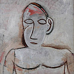 1907 Buste de femme Е la grande oreille, Pablo Picasso (1881-1973) Period of creation: 1889-1907