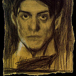 1899 Autoportrait, Pablo Picasso (1881-1973) Period of creation: 1889-1907