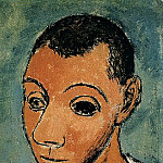 1906 Autoportrait1, Pablo Picasso (1881-1973) Period of creation: 1889-1907