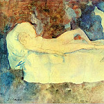 Pablo Picasso (1881-1973) Period of creation: 1889-1907 - 1904 Les deux amies2