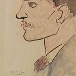 1903 Portrait de lartiste, Pablo Picasso (1881-1973) Period of creation: 1889-1907