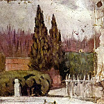 1897 Le Parc del Retiro, Pablo Picasso (1881-1973) Period of creation: 1889-1907