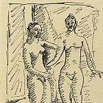 Pablo Picasso (1881-1973) Period of creation: 1889-1907 - 1906 Deux femmes nues