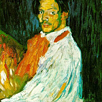 1901 Autoportrait Yo, Picasso, Pablo Picasso (1881-1973) Period of creation: 1889-1907