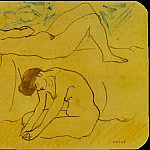 Pablo Picasso (1881-1973) Period of creation: 1889-1907 - 1902 Deux femmes nues