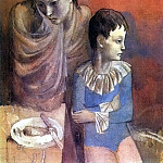 Pablo Picasso (1881-1973) Period of creation: 1889-1907 - 1905 MКre et enfant (Baladins)