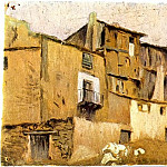 1898 Maisons de Horta dEbre, Pablo Picasso (1881-1973) Period of creation: 1889-1907
