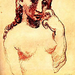 Pablo Picasso (1881-1973) Period of creation: 1889-1907 - 1906 La coiffure2