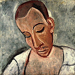 Pablo Picasso (1881-1973) Period of creation: 1889-1907 - 1907 Buste de marin