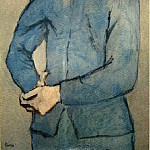 Pablo Picasso (1881-1973) Period of creation: 1889-1907 - 1905 GarЗon bleu